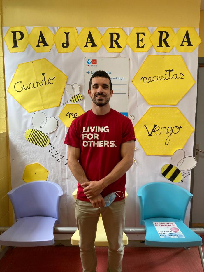Alejandro, voluntario en La Paz